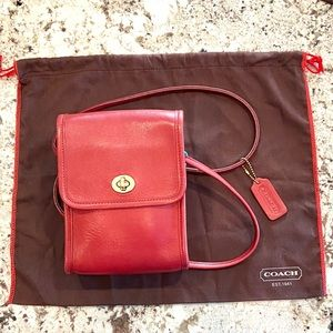 COACH Scooter Bag 9893 Vintage Red